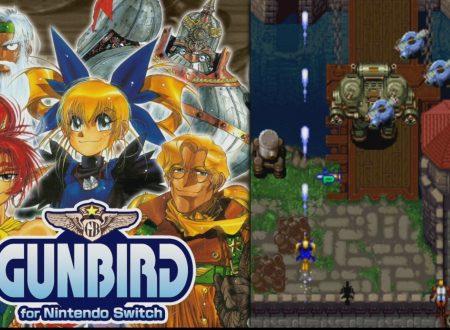 GUNBIRD for Nintendo Switch: uno sguardo al titolo dai Nintendo Switch giapponesi