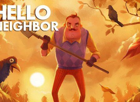 Hello Neighbor: il titolo è in arrivo il 27 luglio su Nintendo Switch