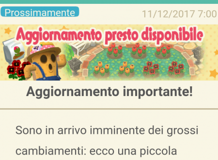 Animal Crossing: Pocket Camp, svelato l'arrivo del nuovo aggiornamento che introdurrà il giardinaggio