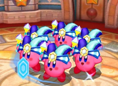 Kirby: Battle Royale, uno sguardo in video all'abilità Specchio di Kirby