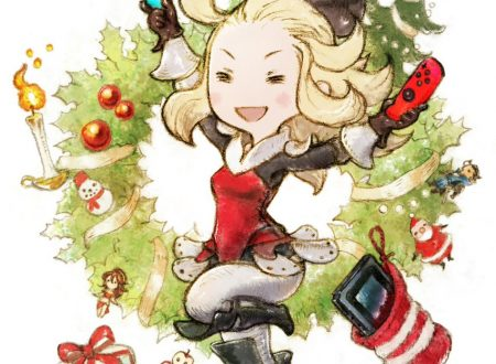 L'account Twitter di Bravely Default augura buone feste, con Nintendo Switch?