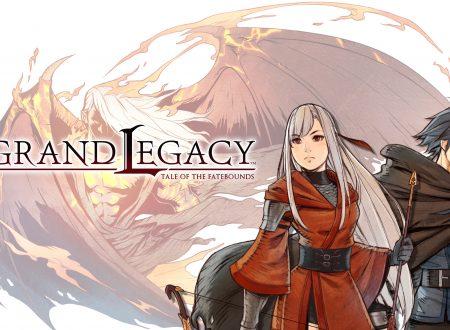 Legrand Legacy – Tale of the Fatebounds: il titolo successo su Kickstarter, in arrivo su Nintendo Switch nel 2019