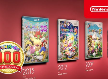 Mario Party: The Top 100, pubblicati due nuovi video commercial giapponesi sul titolo