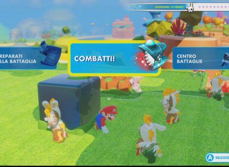 Mario + Rabbids: Kingdom Battle, il titolo è stato aggiornato alla versione 1.5.447393