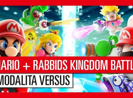 Mario + Rabbids: Kingdom Battle, la modalità Versus in locale in arrivo l'8 dicembre sui Nintendo Switch europei