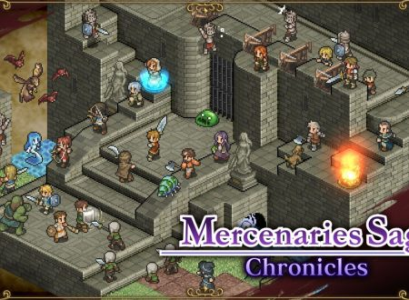 Mercenaries Saga Chronicles: la trilogia è in arrivo nel 2018 sull'eShop di Nintendo Switch