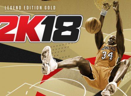 NBA 2K18: svelati i dettagli della ver. 1.07, disponibile in futuro sui Nintendo Switch europei