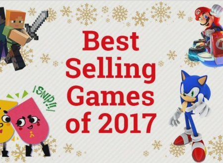 Nintendo Switch: rivelati i 20 titoli più venduti del 2017 della console e sull'eShop