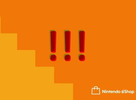 Nintendo eShop: i 22 titoli indie settimanali, WWE 2K18 e il grosso problema di Nintendo Switch
