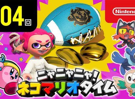 Nyannyan Neko Mario Time: pubblicato l'episodio 104 dello show felino con Mario e Peach