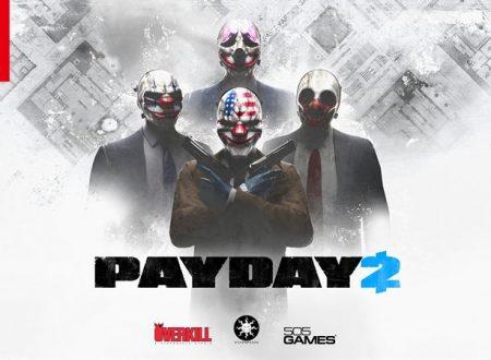 PAYDAY 2: il titolo è in arrivo il 23 febbraio 2018 sui Nintendo Switch europei