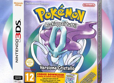 Pokémon Cristallo è in arrivo il 26 gennaio sulla Virtual Console del 3DS