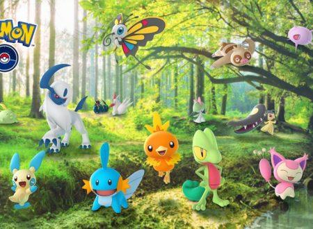 Pokémon GO: la terza generazione e condizioni meteorologiche, ora disponibili nel titolo