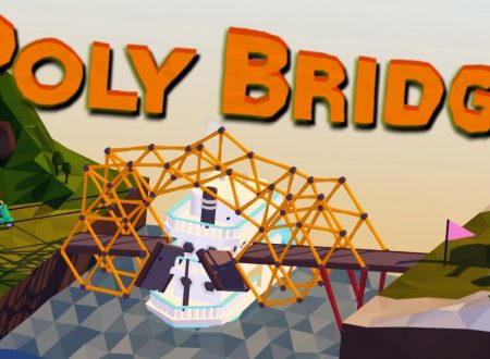 Poly Bridge: il titolo in arrivo il 14 dicembre sull'eShop europeo di Nintendo Switch
