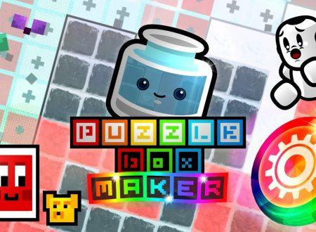 Puzzle Box Maker: pubblicato il trailer di lancio del titolo su Nintendo Switch