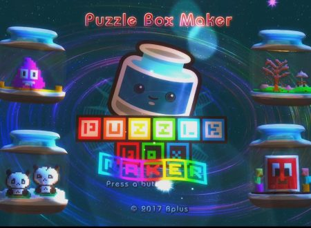 Puzzle Box Maker: un video gameplay sui primi minuti del titolo su Nintendo Switch