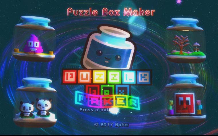 Puzzle Box Maker: un video gameplay sui primi minuti del titolo su Nintendo Switch