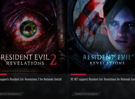 Resident Evil Revelations 1 e 2: oggetti in regalo per la modalità Raid, dal sito ufficiale di Resident Evil