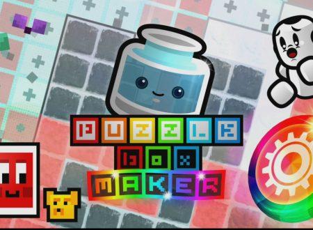 Puzzle Box Maker: il titolo in arrivo il 21 dicembre sull'eShop europeo di Nintendo Switch