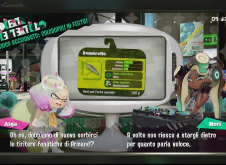Splatoon 2: uno sguardo in video al Bombrello, ora disponibile all'interno del gioco