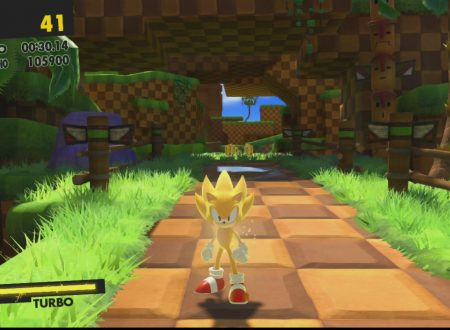 Sonic Forces: una prima occhiata in video gameplay al DLC di Super Sonic, classico e moderno