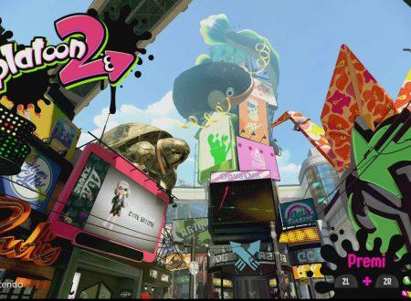 Splatoon 2: il titolo è stato aggiornato alla versione 2.1.1 sui Nintendo Switch europei