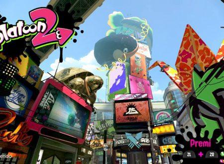 Splatoon 2: il titolo aggiornato alla versione 2.0.1 sui Nintendo Switch europei