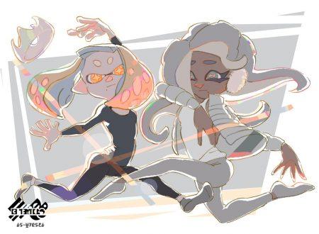 Splatoon 2: mostrato l'artwork ufficiale dello Splatfest giapponese in collaborazione con UNIQLO