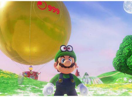 Super Mario Odyssey: pubblicato un video sul 100%, 999 lune, monete viola, costumi e souvenir, e Secret Ending