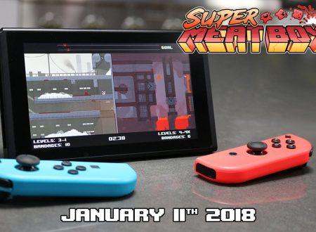 Super Meat Boy: il titolo in arrivo il prossimo 11 gennaio su Nintendo Switch