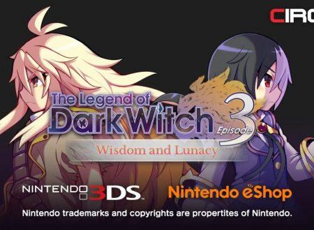 The Legend of Dark Witch 3: il titolo in arrivo il 21 dicembre sull'eShop europeo del 3DS