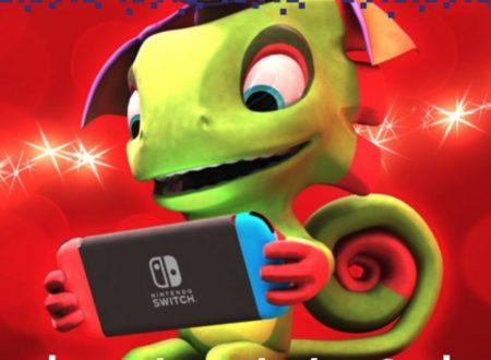 Yooka-Laylee: pubblicato il trailer di lancio della versione per Nintendo Switch