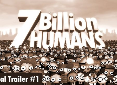 7 Billion Humans: il titolo annunciato con un trailer, in arrivo su Nintendo Switch