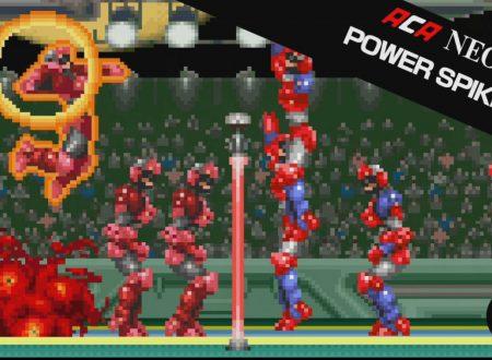 ACA NEOGEO Power Spikes II, il titolo in arrivo il 18 gennaio sull'eShop europeo di Nintendo Switch