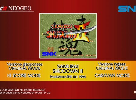 ACA NEOGEO SAMURAI SHODOWN II, uno sguardo in video al titolo dai Nintendo Switch europei