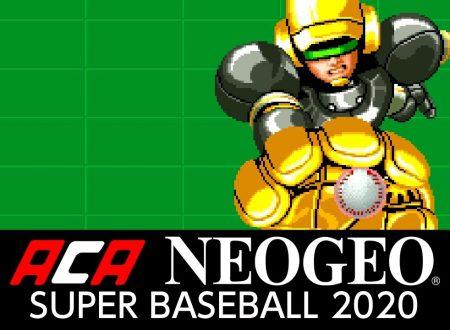 ACA NEOGEO SUPER BASEBALL 2020, il titolo in arrivo il prossimo 8 febbraio sull'eShop europeo di Nintendo Switch