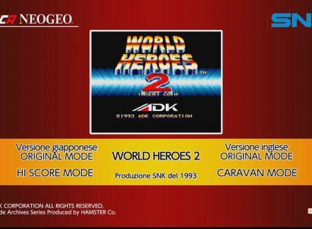 ACA NEOGEO WORLD HEROES 2, uno sguardo in video al titolo dai Nintendo Switch europei