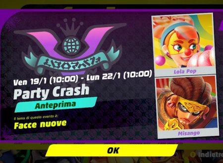 ARMS: svelato il quarto Party Crash, Facce nuove, Lola Pop vs. Misango