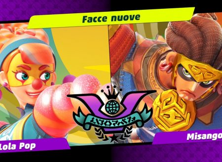 ARMS: uno sguardo in video al quarto Party Crash, Facce nuove, Lola Pop vs. Misango