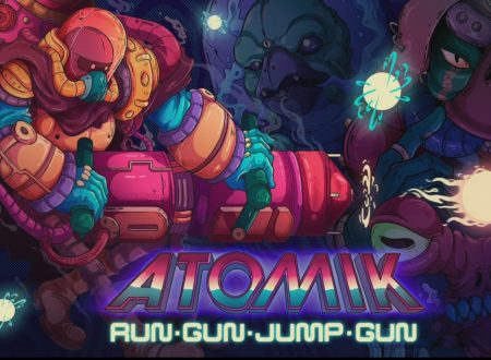 ATOMIK: RunGunJumpGun: primo sguardo in video al titolo dai Nintendo Switch europei