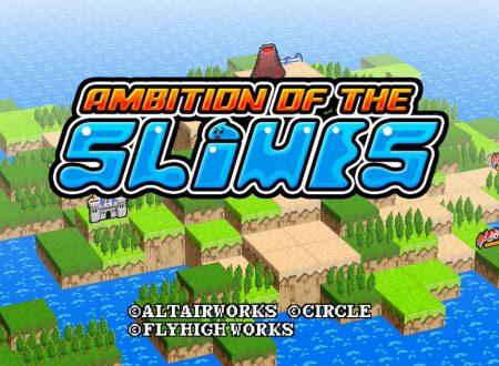 Ambition of the Slimes: il titolo è in arrivo il 18 gennaio sui Nintendo Switch europei