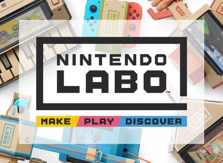 Annunciato Nintendo Labo, nuove esperienze interattive dal 27 aprile sui Nintendo Switch europei