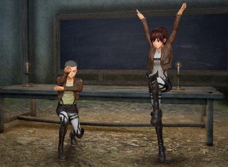 Attack on Titan 2: Future Coordinates, altri dettagli sui personaggi e sulla modalità online