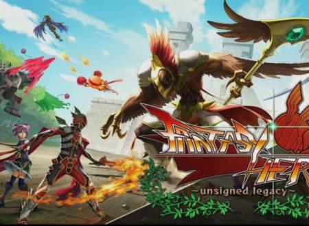FANTASY HERO ~unsigned legacy~: il titolo in arrivo il 25 gennaio sui Nintendo Switch europei
