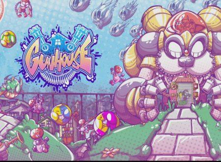 Gunhouse: il titolo in arrivo il 15 gennaio sull'eShop europeo di Nintendo Switch