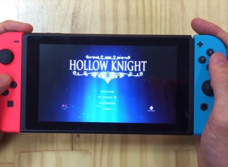 Hollow Knight: mostrato un video off-screen del titolo su Nintendo Switch