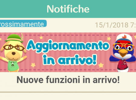 Animal Crossing: Pocket Camp, svelati i contenuti del nuovo aggiornamento, presto in arrivo