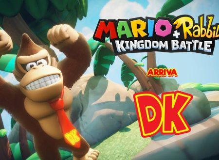 Mario + Rabbids Kingdom Battle: Donkey Kong si unisce al roster del titolo strategico