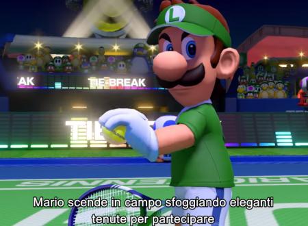 Mario Tennis Aces: il nuovo capitolo annunciato ed in arrivo in primavera su Nintendo Switch