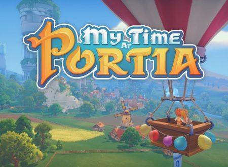 My Time At Portia: pubblicato il trailer del titolo in arrivo su Nintendo Switch